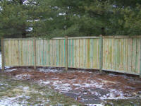 Custom Wood Fence Styles